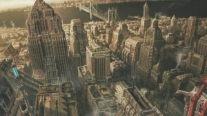 Gotham City looks gorgeous. Still, a bit too NYC and not Chicago enough for my tastes.