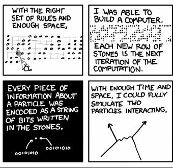 A bunch of Rocks (XKCD 11/17/08)