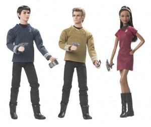 Star Trek Barbie Dolls