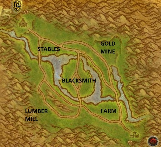 Arathi Basin map