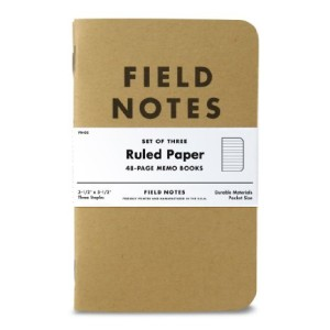 field notes ruled