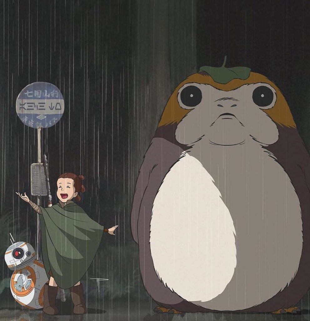 Rey-chan, ChiBB8, and Porgoro